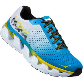 Hoka One One M's Elevon Running Shoes Diva Blue/Sulphur Spring